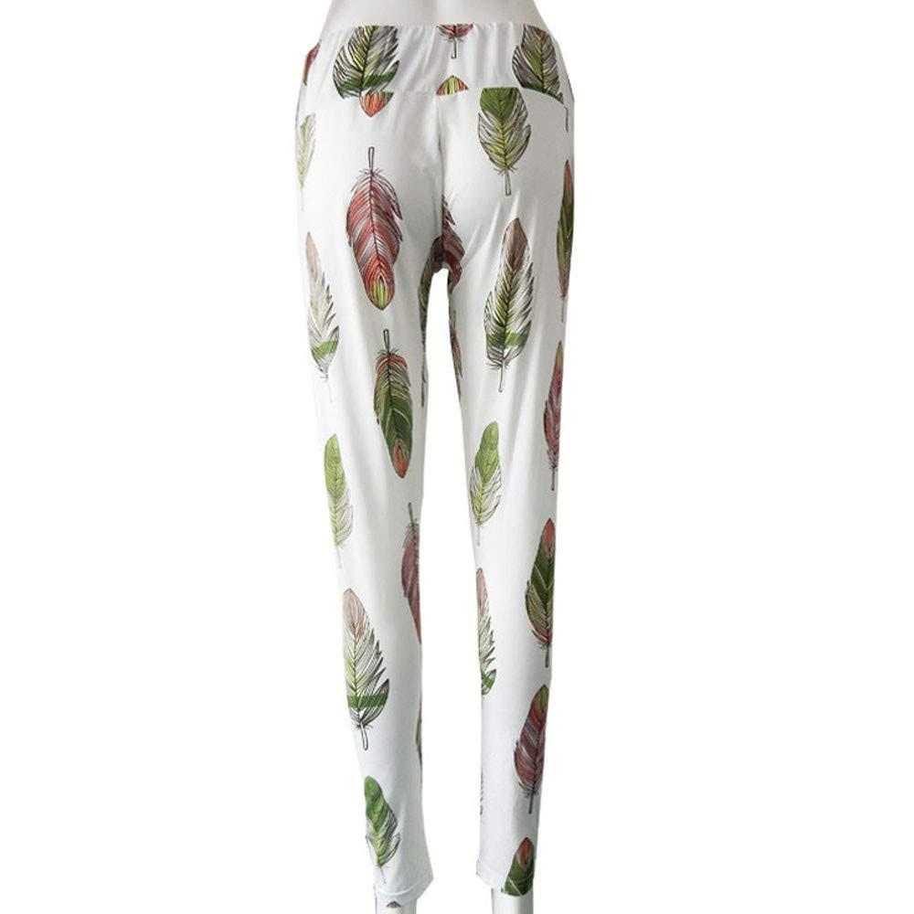 Amazon.com: iLUGU Womens High Waist Yoga Pants Gym Yoga ...