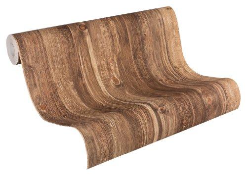 AS-Creation-908629-Wood-n-Stone-Papel-pintado-para-pared-imitacin-madera