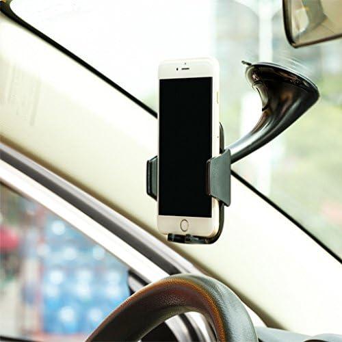 S6 Galaxy Note 5 4 3 2 Premium Car Mount Dash Windshield Glass Holder Dock for iPhone 6 6S Plus Motorola Droid Turbo 2 5S 5C SE Edge+ Samsung Galaxy S7 Edge LG G2 G3 G4 G5 V10 S3 S5 S4