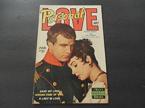 Personal Love #31 Feb 1955 Golden Age Famous Funnies Comic - Glasses 31 Feb