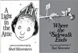 img - for Shel Silverstein Pack 2 Book Set: Where the Sidewalk Ends and A Light in the Attic book / textbook / text book