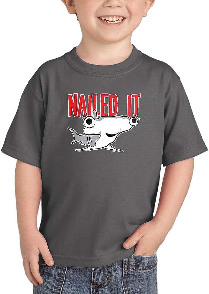 Nailed It - Hammerhead Shark Pun Infant/Toddler Cotton Jersey T-Shirt