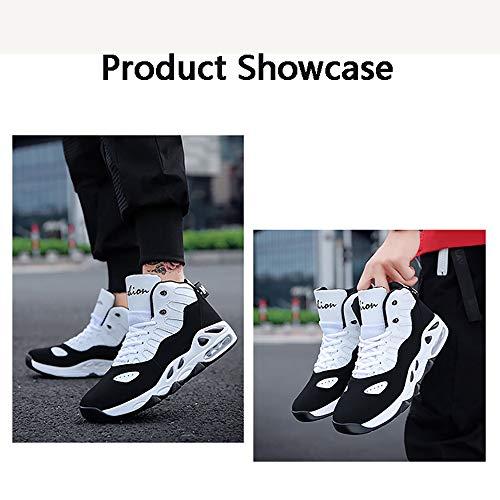 Sneakers 39 Di Basket Spessore aiuto Scarpe Casual Autunno Uomini H Uomo l 40 E Tendenza Alta Basso Moda Inverno Maschile gRxIqH