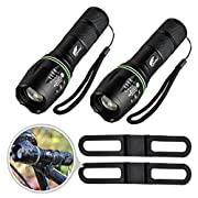 #LightningDeal Hausbell flashlight,Tactical Flashlight,LED Handheld Flashlights,Mini LED Flashlight,Zoomable,High Lumen Flashlights,Water Resistant,5 Light Modes Camping Lantern Flashlight for Camping,Hiking