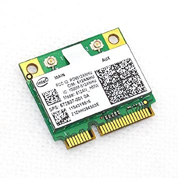 Intel 5100 AGN Half Size Wireless Mini Pcie Card for IBM 802.11a/g/n 2.4 Ghz & 5ghz