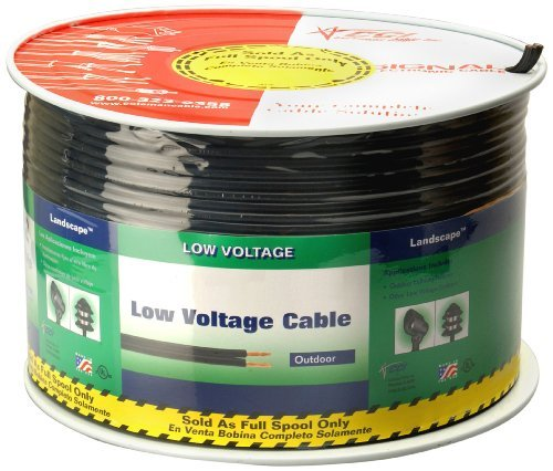 Coleman Cable 552690408 12/2 Low Voltage Lighting Cable, (Low Voltage Outdoor Wire)