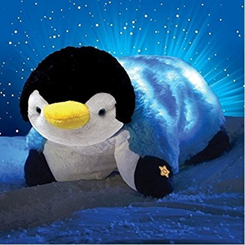Pillow Pets Glow Pets Penguin, 12 Inches