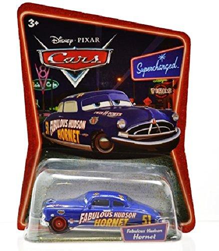 MATTEL Disney PIXAR CARS Supercharged FABULOUS HUDSON HORNET Mini car (Hudson Hornet Supercharged)