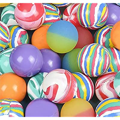 Rhode Island Novelty 45MM 1.75 Inch Hi Bounce Ball Assortment, 12 Balls per Order…: Toys & Games