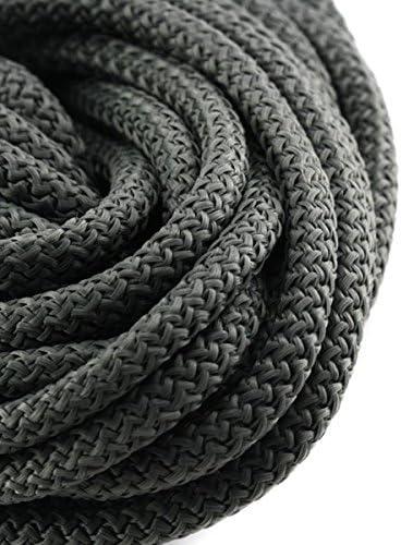PARACORDE – Cuerda Escalada 5 mm Gris Oscuro x1 m: Amazon.es ...