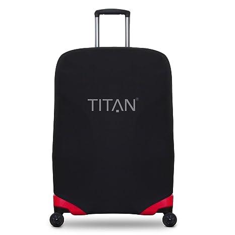 Titan Luggage Cover Universal - aus elastischem Spandex Polyester für 4-RAD Trolleys M+,