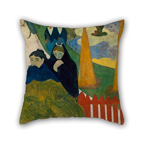 Elegancebeauty 16 X 16 Inches / 40 By 40 Cm Oil Painting Paul Gauguin – Arlésiennes (Mistral) Throw Pillow Case ,two Sides Ornament And Gift To Couch…