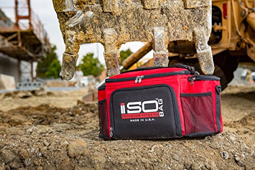 Isobag 6 Meal Reverse Red/Black by Isolator Fitness (Image #8)