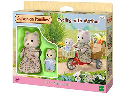Sylvanian Families 2236 - Fahrradfahren mit Mutter