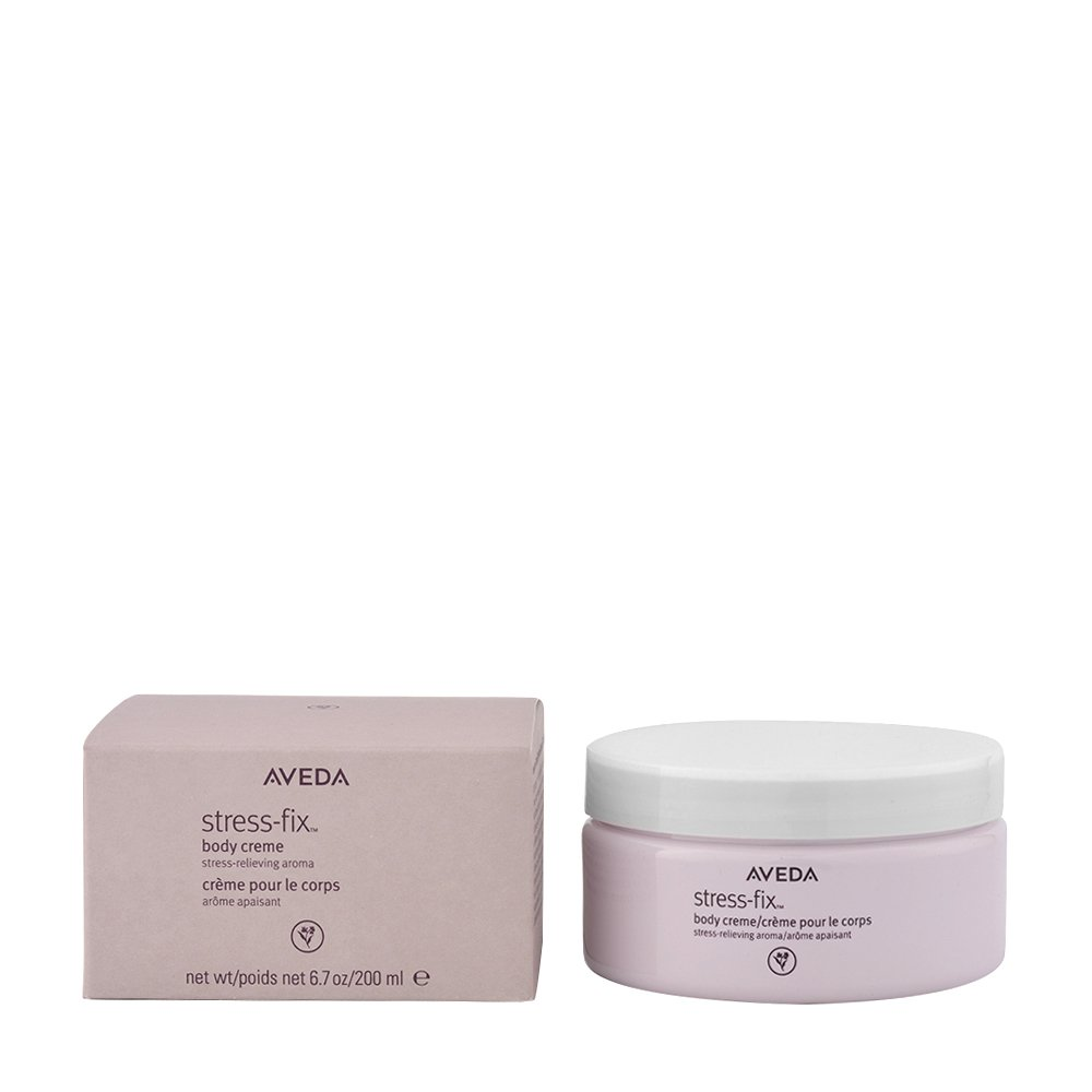 Aveda Stress Fix Body Creme Moisturizer - Summer to Fall Skin Care & Makeup in case you care to peek in my Fierce Over 40 arsenal.