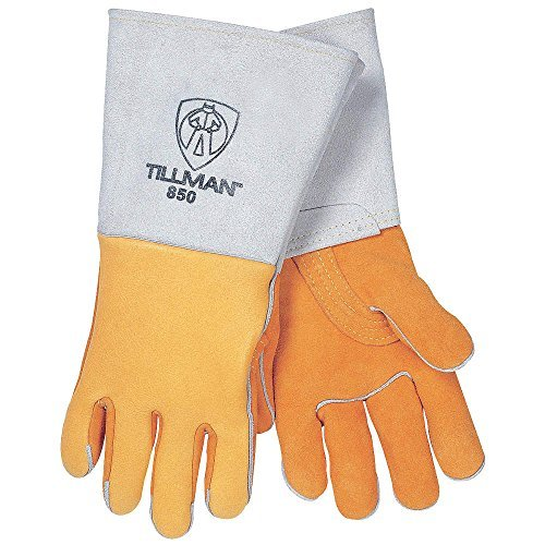 Welding Gloves, Stick, XL, 14 in. L, PR
