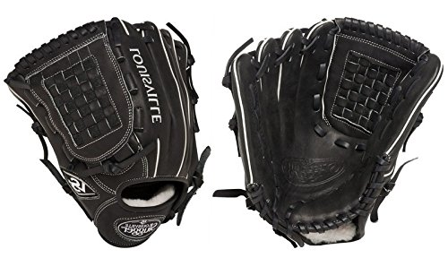 (Louisville Slugger 12-Inch FG Pro Flare Baseball Infielders Gloves, Black, Left Hand Throw)