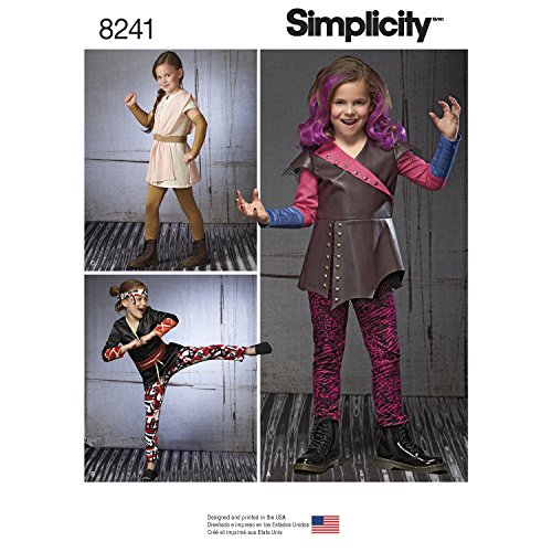 Simplicity Patterns 8241 Child's Warrior -