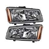 Chevy Silverado Replacement Headlight Assembly - 1-Pair