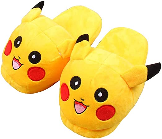 Achat Chaussons Pantoufles Pokemon Pikachu in 2020 Soft slippers ...