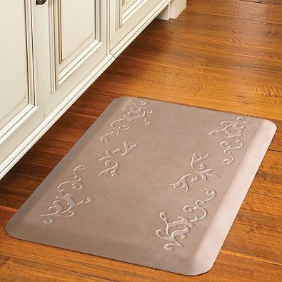 Wellness Mats Select Vineyard Kitchen Mat 32-Inch x 20-Inch (Sandstone)