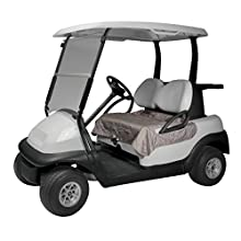 Classic Accessories Fairway Golf Cart Seat Blanket/Cover, Houndstooth