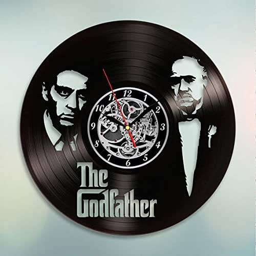 Amazon Com The Godfather Vinyl Record Wall Clock Get