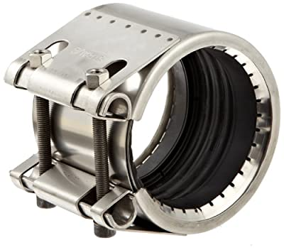 Dixon STR Series Stainless Steel Straub Grip-L Axial Restraint Pipe and Welding Fitting, Pipe Coupling, OD Range