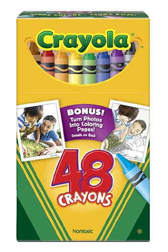 Crayola Regular Size Crayon 48Pk [Case of 10] by MyDirectAdvantage