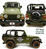 Harley-Davidson 1/27 ¡ Jeep Rubicon Army Green