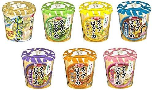 エースコック スープはるさめ詰め合わせ 7種類 各1個 1箱:7個入り