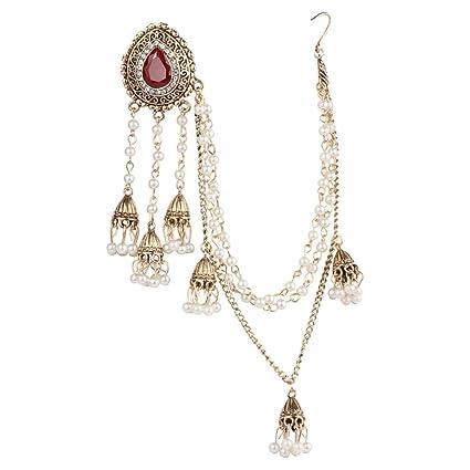 f6618987f Amazon.com: EA-SOTNE 1pc Vintage Earrings Multi Layer Chain Tassel ...