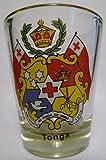 Tonga Coat Of Arms Shot Glass