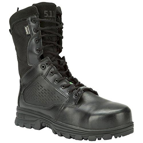 5.11 Cremallera lateral Evo para hombre de 8 , bota de seguridad compuesta con punta militar y táctica
