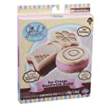 Girl Gourmet Ice Cream Sandwich Maker Refill Pack Cookie Dough