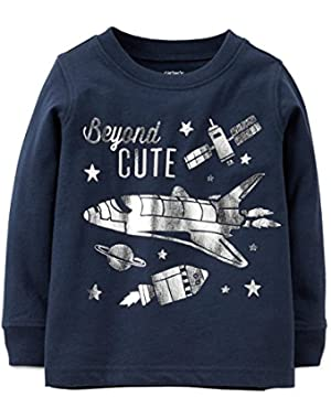 Carter's Baby Boys' Beyond Cute Shirt (6 months)