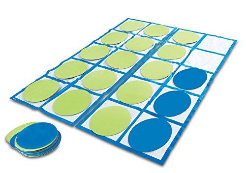 Learning Resources Ten-Frame Floor Mat Activity Set, 22 - 10 Frames Piece