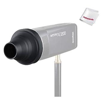 Godox AK-R17 Snoot,Compatible for Godox H200R Round Flash Head Godox V1 Flash Series,V1-S,V1-N,V1-C,AD200 Pro,AD200