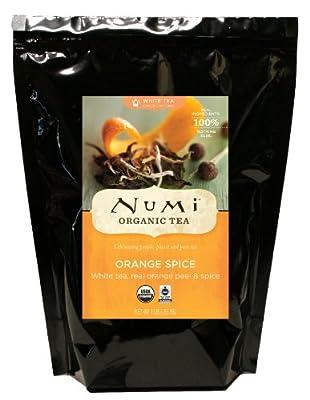 Numi Organic Tea, Loose Leaf Green and White Tea, 16 Ounce Bulk Pouch