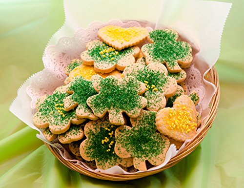 St. Patty's Day Sugar Cut-Out with Sprinkles (30 Cookies) - Day Sugar Cookies