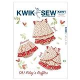 Kwik Sew K3901 Oh! Rileys Ruffles Sewing Pattern, Size S-M-L-XL-XXL