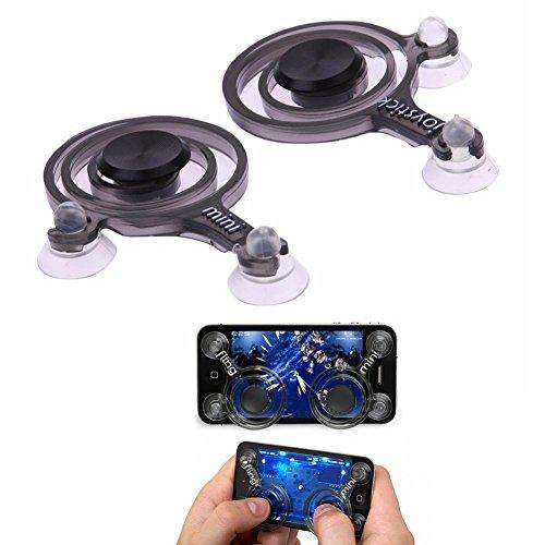 yuyugo 1par Mobile teléfono Joystick Joysticks divertido juego driver táctil para tablet Android iOS y iPad, fácil de...