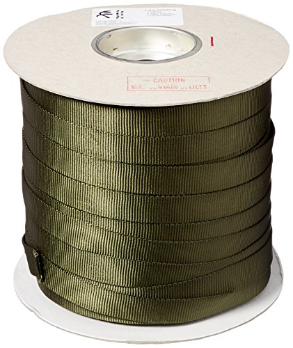 Liberty Mountain Olive Drab Tube Web (1-Inch x 300-Feet) ()