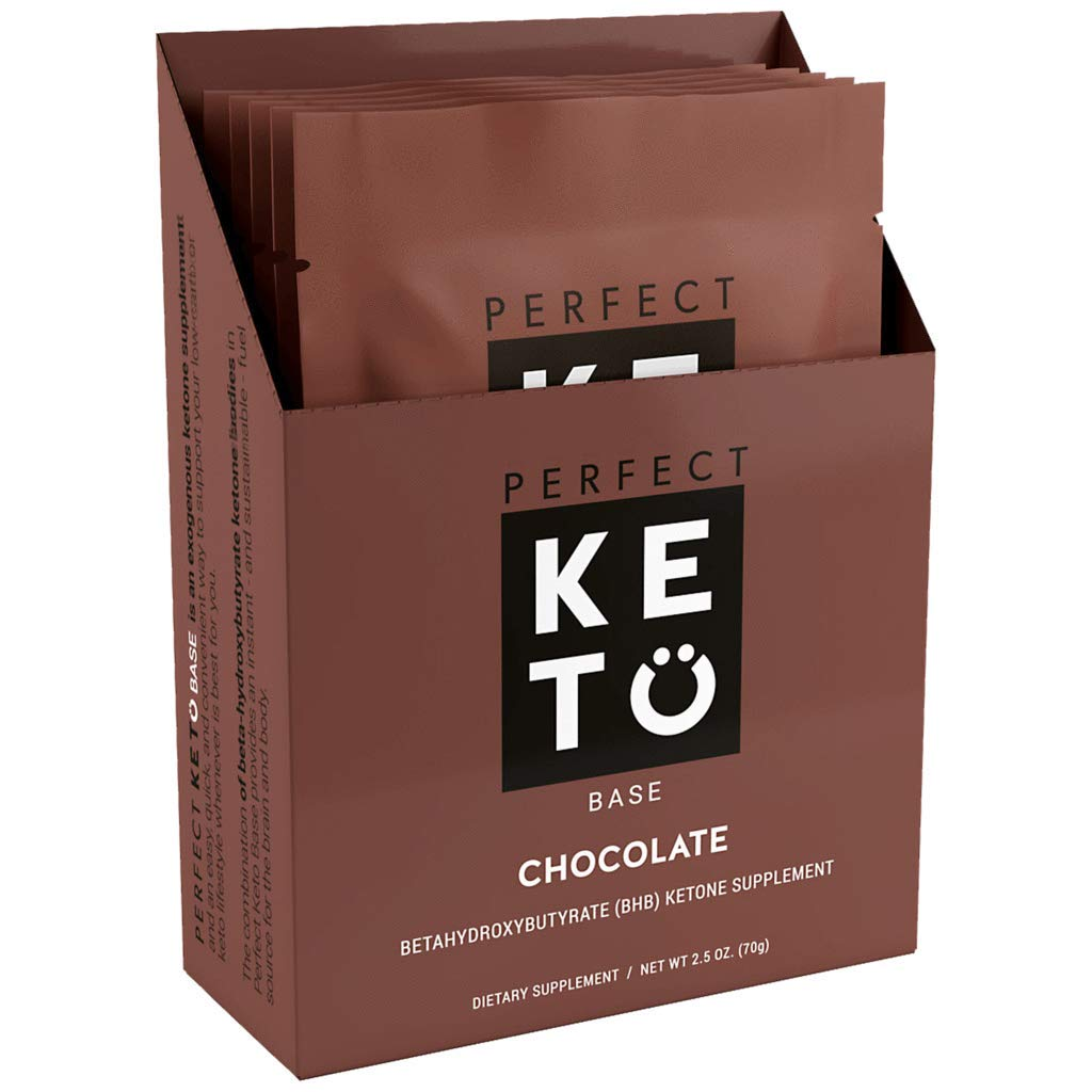 Perfect Keto Exogenous Ketone Salts 5 Single Pack Samplers- Chocolate by Perfect Keto