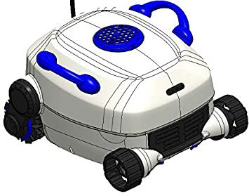 Amazon.com: Nu Cobalt Robótico Limpiador de piscina, solo ...