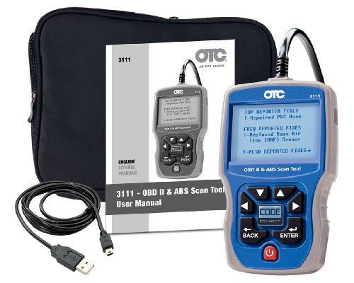 OTC 3111 OBD II, CAN and ABS Scan Tool (Otc Obd Ii And Abs Scan Tool)