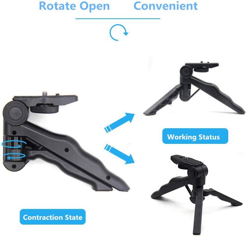 JMFHCD Mini Camera Tripod Monopod Selfie Stick Stabilizer Camera Stand for Photography Lighting Mini Tripod