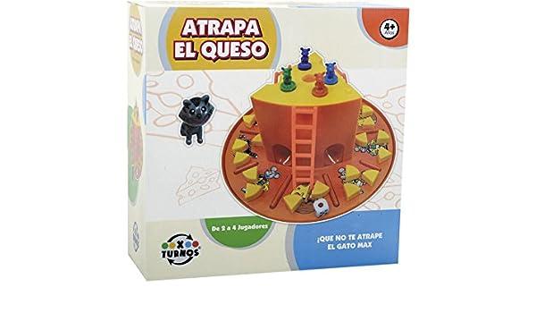 XTURNOS Atrapa El Queso: Amazon.es: Juguetes y juegos