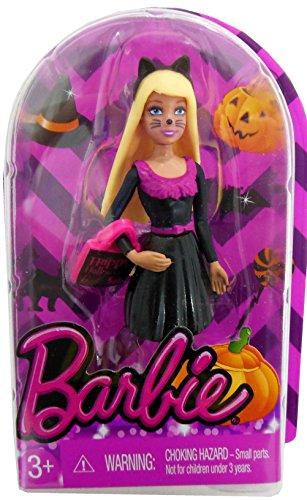 EXCLUSIVE Barbie MINIATURE HALLOWEEN CAT Doll - 2014 - Exclusive Miniature