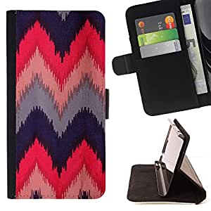 For Sony Xperia M5 E5603 E5606 E5653 Case , Azul indio nativo Rosa M- la tarjeta de Crédito Slots PU Funda de cuero Monedero caso cubierta de piel